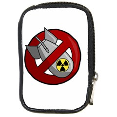 No Nuclear Weapons Compact Camera Cases by Valentinaart