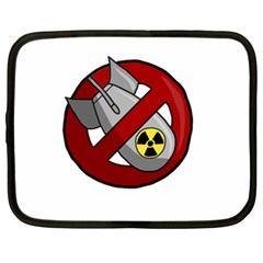 No Nuclear Weapons Netbook Case (xl)