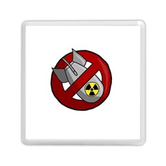 No Nuclear Weapons Memory Card Reader (square)