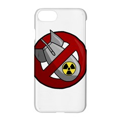 No Nuclear Weapons Apple Iphone 7 Hardshell Case