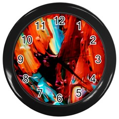 Abstract Acryl Art Wall Clocks (black) by tarastyle