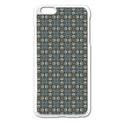 Earth Tiles Apple Iphone 6 Plus/6s Plus Enamel White Case by KirstenStar