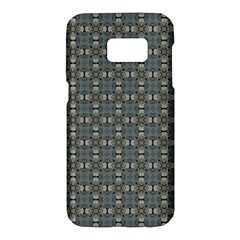 Earth Tiles Samsung Galaxy S7 Hardshell Case  by KirstenStar