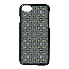 Earth Tiles Apple Iphone 7 Seamless Case (black) by KirstenStar