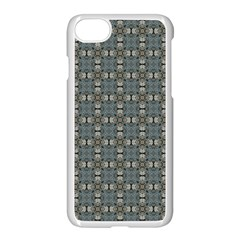 Earth Tiles Apple Iphone 7 Seamless Case (white) by KirstenStar