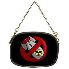 No Nuclear Weapons Chain Purses (one Side)