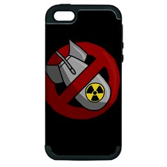 No Nuclear Weapons Apple Iphone 5 Hardshell Case (pc+silicone)