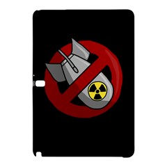 No Nuclear Weapons Samsung Galaxy Tab Pro 10 1 Hardshell Case by Valentinaart