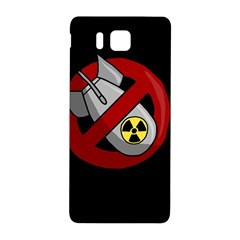 No Nuclear Weapons Samsung Galaxy Alpha Hardshell Back Case by Valentinaart