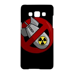 No Nuclear Weapons Samsung Galaxy A5 Hardshell Case  by Valentinaart