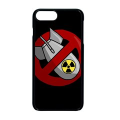No Nuclear Weapons Apple Iphone 7 Plus Seamless Case (black) by Valentinaart