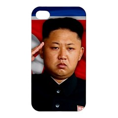 Kim Jong Un Apple Iphone 4/4s Hardshell Case by Valentinaart