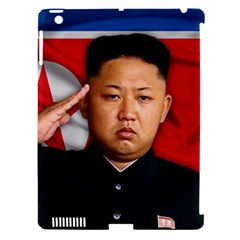 Kim Jong Un Apple Ipad 3/4 Hardshell Case (compatible With Smart Cover) by Valentinaart