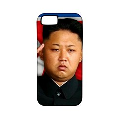 Kim Jong Un Apple Iphone 5 Classic Hardshell Case (pc+silicone) by Valentinaart