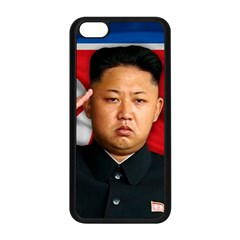 Kim Jong Un Apple Iphone 5c Seamless Case (black) by Valentinaart