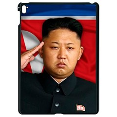Kim Jong Un Apple Ipad Pro 9 7   Black Seamless Case by Valentinaart