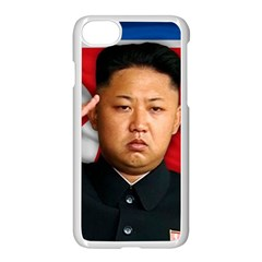 Kim Jong Un Apple Iphone 8 Seamless Case (white) by Valentinaart