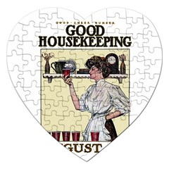Good Housekeeping Jigsaw Puzzle (heart)