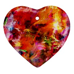 Abstract Acryl Art Ornament (heart) by tarastyle