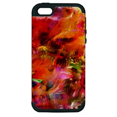Abstract Acryl Art Apple Iphone 5 Hardshell Case (pc+silicone) by tarastyle