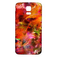 Abstract Acryl Art Samsung Galaxy S5 Back Case (white) by tarastyle