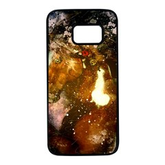 Wonderful Horse In Watercolors Samsung Galaxy S7 Black Seamless Case by FantasyWorld7