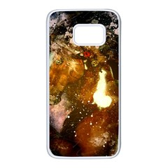 Wonderful Horse In Watercolors Samsung Galaxy S7 White Seamless Case by FantasyWorld7