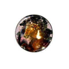 Wonderful Horse In Watercolors Hat Clip Ball Marker by FantasyWorld7