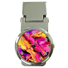 Abstract Acryl Art Money Clip Watches by tarastyle