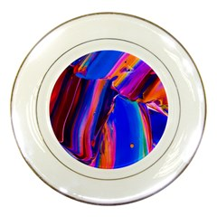 Abstract Acryl Art Porcelain Plates by tarastyle