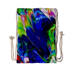 Abstract Acryl Art Drawstring Bag (small) by tarastyle