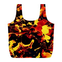 Abstract Acryl Art Full Print Recycle Bags (l)  by tarastyle