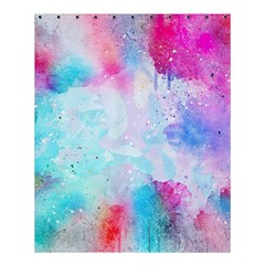 Pink And Purple Galaxy Watercolor Background  Shower Curtain 60  X 72  (medium)  by paulaoliveiradesign