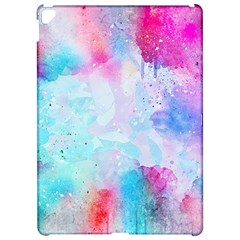 Pink And Purple Galaxy Watercolor Background  Apple Ipad Pro 12 9   Hardshell Case by paulaoliveiradesign
