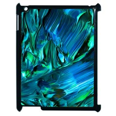 Abstract Acryl Art Apple Ipad 2 Case (black) by tarastyle