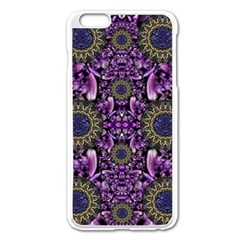 Flowers From Paradise In Fantasy Elegante Apple Iphone 6 Plus/6s Plus Enamel White Case by pepitasart