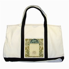 Art Nouveau Two Tone Tote Bag by 8fugoso
