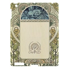 Art Nouveau Apple Ipad 3/4 Hardshell Case by 8fugoso
