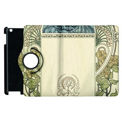 Art Nouveau Apple Ipad 2 Flip 360 Case by 8fugoso