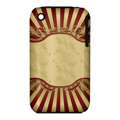 Art Deco Red Iphone 3s/3gs by 8fugoso