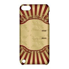 Art Deco Red Apple Ipod Touch 5 Hardshell Case With Stand by 8fugoso
