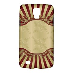 Art Deco Red Galaxy S4 Active by 8fugoso
