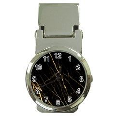 Black Marble Money Clip Watches by 8fugoso
