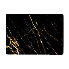Black Marble Apple Ipad Mini Flip Case by 8fugoso