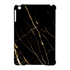 Black Marble Apple Ipad Mini Hardshell Case (compatible With Smart Cover) by 8fugoso