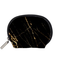Black Marble Accessory Pouches (small)  by 8fugoso