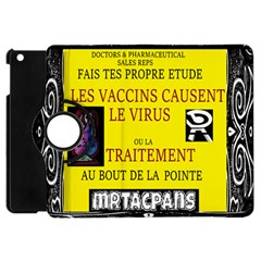 Ronald Story Vaccine  Apple Ipad Mini Flip 360 Case by MRTACPANS