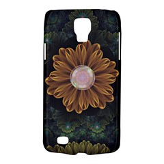 Abloom In Autumn Leaves With Faded Fractal Flowers Galaxy S4 Active by jayaprime
