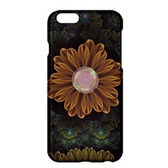 Abloom In Autumn Leaves With Faded Fractal Flowers Apple Iphone 6 Plus/6s Plus Hardshell Case by jayaprime