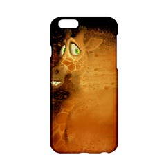 The Funny, Speed Giraffe Apple Iphone 6/6s Hardshell Case by FantasyWorld7